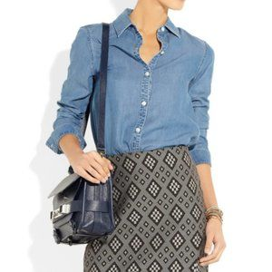 Marc Jacobs Chambray Chambray Button Down 8